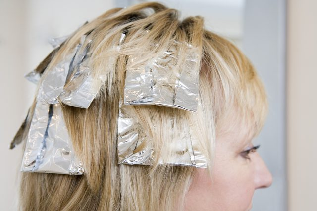 10 foil hair highlight Iowa City